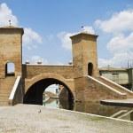 Comacchio, Ferrara, Italy — Stock Photo