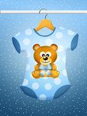 Bebek giyim — Stok fotoğraf
