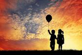 Children love — Stock Photo