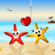 Starfish in love — Stock Photo #27132093