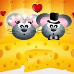Mice in love — Stock Photo #27667855