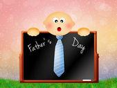 Día de padre feliz — Foto de Stock