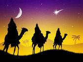 Reyes los magos — Foto de Stock