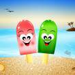 Stock Photo: Ice lolly