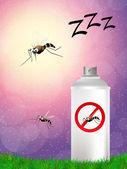 Mosquito spray — Stock Photo
