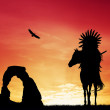Stock Photo: Native American Indian