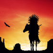 Native American Indian — Stock Photo