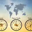 Time zones — Stock Photo #30163039