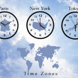 Stock Photo: Time zones