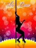 Baile erótico — Foto de Stock