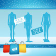Shop for clothes — Stock Photo