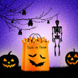 Foto de Stock  : Trick or treat