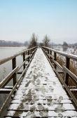 Embarcadero de madera — Foto de Stock