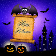 Bat cartoon — Stockfoto #31180835