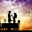 Romantic dinner — Stock Photo #31181059
