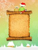 Christmas letter — Stock Photo