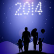Celebrate the New Year — Stock Photo