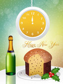New Year's toast — Stock Photo