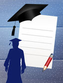 Man graduate — Stock Photo