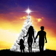 Family at Christmas — Stock Photo #32809755