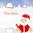 Stock Photo: Dear Santa