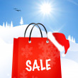 Chrstmas sale — Stock Photo