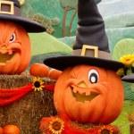 Halloween pumpkins — Stock Photo #33690473