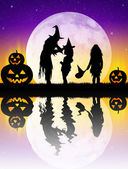 Insanların kılık, halloween — Stok fotoğraf