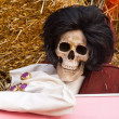 Funny skeleton — Stock Photo