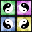 Stock Photo: Yin yang symbol