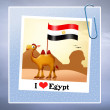 Postcard from Egypt — Stock Photo