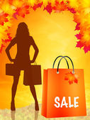 Seasonal sales — Stock Photo