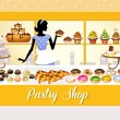 Pastry shop — Stock Photo