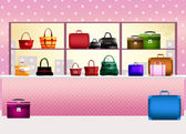 Bags shop — Stock Photo