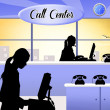 Call center — Stock Photo