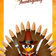 Happy thanksgiving — Stock Photo