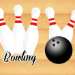Bowling — Stock Photo #35474223