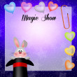 Magic show — Foto de Stock