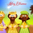 three wise men — Stock Photo