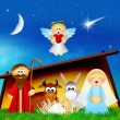 Nativity scene — Stock Photo #35784453