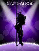 Lap dance — Stock Photo