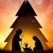 Nativity scene — Stock Photo #36101317