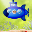 Stock Photo: Submarine
