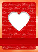 Valentine's Day postcard — Stockfoto