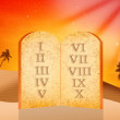 Stock Photo: Ten Commandments