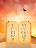 Ten Commandments — Stock Photo