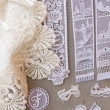 Stock Photo: Lace in Murano