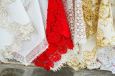 Lace in Murano — Stock Photo