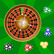 Roulette casino — Stock Photo #37441343