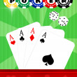 Poker casino — Stock Photo #37441517
